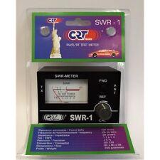 POWER METER - CRT 135 SWR & PWR - CB RADIO ANTENNA 1-100W 26-30 Mhz 50 OHMS
