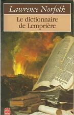 LAWRENCE NORFOLK LE DICTIONNAIRE DE LEMPIERE