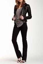 NEW Joe's Jeans Women's Lynden Classic Curvy Bootcut, Black, 26 QHOLDN5730