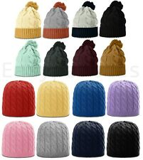 Richardson NEW Womens Cable or Chunk Twist Knit Beanie, Girls Hat, Ladies Cap