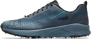 Icebug Men's NewRun M BUGrip Road Running Shoe, Forest/Black, 11.5 D(M) US