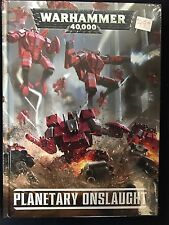 Planetary Onslaught Warhammer 40K Codex Supplement New Sealed GW Tau Empire