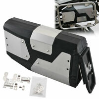 1 x Stainless 4.2L Tool Box For 04-19 BMW R1200GS LC Adventure Left Side Bracket