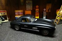 CUSTOM ONE - OFF Mercedes 300 sl Burago rat racer modified  1/18 diecast
