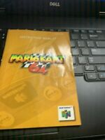 Mario Kart Cart N64 Nintendo 64 Instruction Manual Only