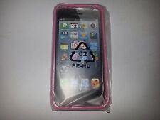 SOFT PLASTIC BACKING CASE (PINK) FOR APPLE iPhone 5