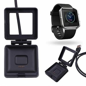 For Fitbit Blaze USB Charging Cable Lead Power Charger Dock Cradle Wristband