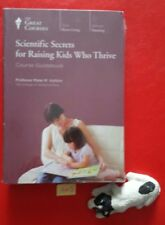 NEW Great Courses Scientific Secrets for Raising Kids Who Thrive DVDs & Guide