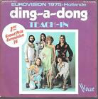 "45 TOURS / 7"" SINGLE--TEACH IN--DING A DONG / LET ME IN--1975"