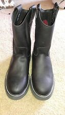 Rodeo Max  Leather Work Boots Size 9 Men's made in mexico