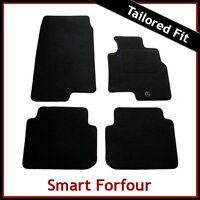 Smart Forfour Mk1 2004-2006 Tailored Carpet Car Floor Mats BLACK