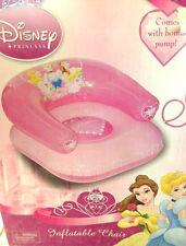 Chair inflatable Disney Princess one pump inflate deflate repair kit pink new 3+