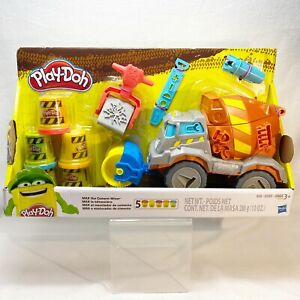 The Cement Mixer Play-Doh Toy Construction Truck With 5 Non-Toxic Colors