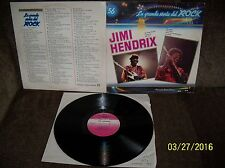 JIMI HENDRIX La Grande Storia del Rock #56 1981 GF LP GSR 56 EXC-/EXC