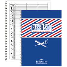 BK-SC-9019 BARBER SALON BEAUTY SCALPMASTER BARBER APPOINTMENT BOOK 3 COLUMN