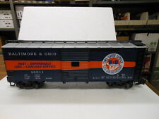 Aristocraft G-Scale Steel Box Car-B&O Timesaver 46011