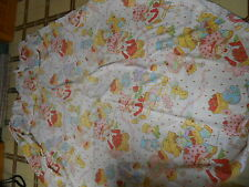 Vintage 1980 AMERICAN GREETINGS CORP Strawberry Shortcake Fitted Sheet Full Size
