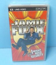 Jamie Foxx I Might Need Security (2002) UMD PSP BRAND NEW FACTORY SEALED