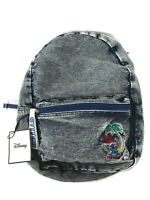 Disney Stitch Denim Backpack Children's School Bag Jeans Rucksack Primark New