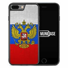 iPhone 7 Plus - Hülle SILIKON Case Russland Russia Rossiya Cover Schale