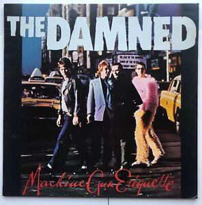 THE DAMNED Machine Gun Etiquette 1979 UK CHISWICK RECORDS 1st Press CWK 3011 EX
