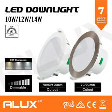 LED DOWNLIGHT 10W 12W 14W DIM CCT COLOUR CHANGEABLE IP44 70MM/90MM/120MM CUTOUT