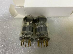 NOS E188CC 7308 Valvo & Philips SQ Balanced Tubes