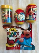 Ryan's World 4 Items Mystery Slime/Mystery Squishy Figure/Mystery Putty/Mystery