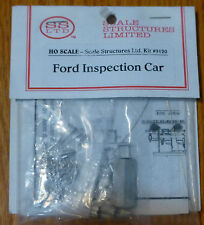 SS Ltd. HO #9120 Ford Inspection Car kit (Castings)