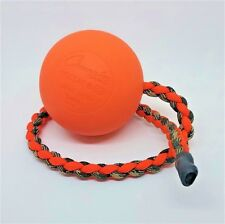 Paracord Police Sheriff Hunting Dog K9 canine K-9 Tug Toy Reward Ball on Rope