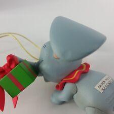 Dumbo Elephant Walt Disney President Edition GROLIER Christmas tree ornament