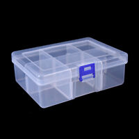 Big 6 Compartments Fishing Lure Tackle Hook Bait Storage Box Container Case PB