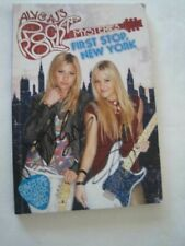 Signed x2! Ally & Aj Rock N Roll Mysteries First Stop New York G&D Girls Rock!