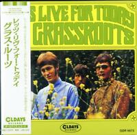 GRASS ROOTS-LETS LIVE FOR TODAY-JAPAN MINI LP CD BONUS TRACK C94