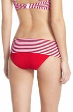 NWT $72   SEAFOLLY   AU 16  / US 12   RED  RIVIERA  SKIRTED   HIPSTER   BOTTOM