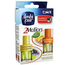 Ambi Pur Car -2 Motion Arctic Drive-, 4 Nachfüllflaschen je 4ml/ Frische für Ihr