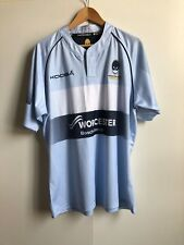 Kooga Worcester Warriors Rugby Men's Shirt - Large - Sky Blue - New