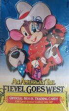 AN AMERICAN TAIL, FIEVEL GOES WEST, SEALED TRADING CARD BOX
