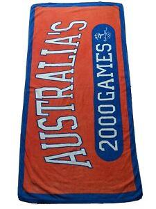 Sydney Olympics 2000 Towel or beach towel official licensed merchandise 150x77cm
