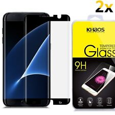 2x For Samsung Galaxy S7 Edge CASE FRIENDLY 3D Full Cover Glass Screen Protector