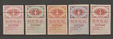 Austria telegraph Revenue Fiscal Cinderella stamps ma27 fairly nice
