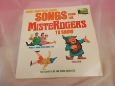 DISNEYLAND RECORD SONGS FROM MISTER ROGERS TV SHOW jerry whitman (1973)  LP