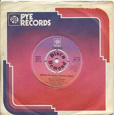 Chuck Jones:Boo on you/Groovin' on:UK Pye Disco Demand:Northern Soul