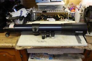 """Meade 102mm 4"""" Blue Refracting Telescope Optical Tube Assembly - Deluxe Focuser"""