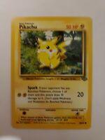 Rare Pikachu Pokemon Card 60/64 1995 Trading Cards