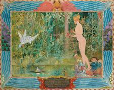 Larsson Carl Venus And Thumbelina Print 11 x 14   #4043