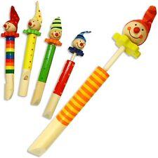 Holzspielzeug Blockflöte bunt Kinder Flöte Kinderflöte Holz Holzflöte bemalt Motiv Spielzeug
