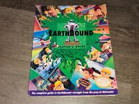 Earthbound w/Scratch Sniff Cards Strategy Player's Guide Book Good Condition