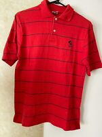 Disney Mickey VINTAGE USA Shirt Red Polo Short Sleeve MENS OR UNISEX - SZ M