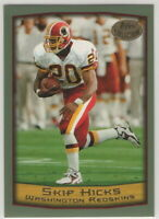 1999 Topps Football Washington Redskins Team Set